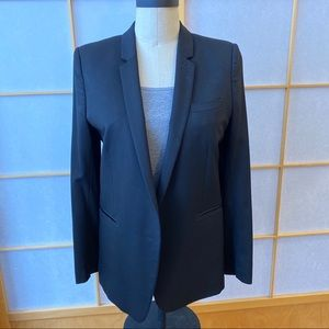 The Kooples Black Single Button Blazer , Size 40